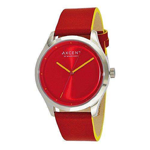 Axcent Armbanduhr Analog Quarz IX10854 808 rouge