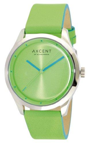 Axcent Damen Armbanduhr Breeze Analog Quarz Leder IX10854 454