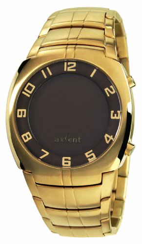 Axcent Unisex Armbanduhr Revelation Digital Quarz Edelstahl IX56007 202