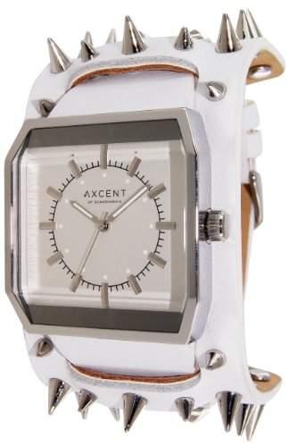 Axcent Damen-Armbanduhr Spear Analog Quarz Weiss IX17023-131