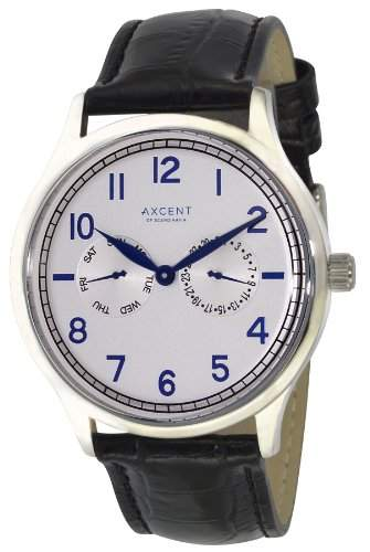 Axcent Damen-Armbanduhr Teacher Analog Quarz Leder IX13833-617