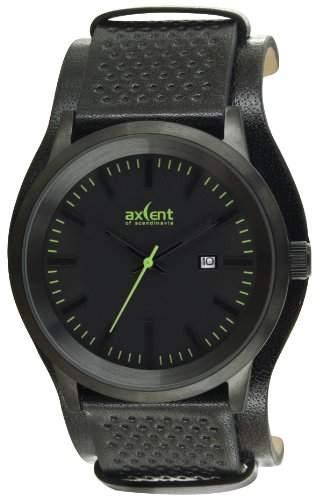 Axcent Unisex-Armbanduhr Lifetime Analog Quarz Leder IX45711-437