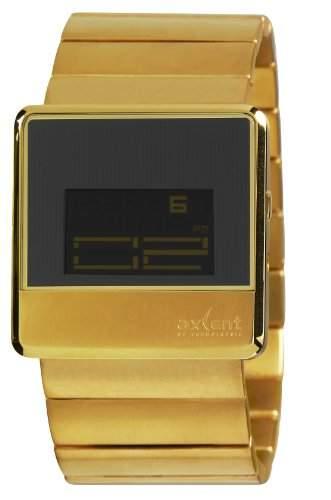 Axcent Unisex-Armbanduhr Unit Digital Quarz Edelstahl IX91007-702