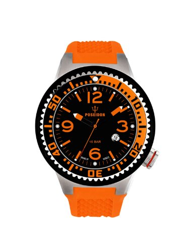 Kienzle Unisex Armbanduhr POSEIDON S Analog Quarz Silikon K2103013063 00417