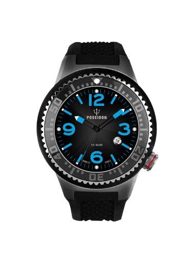 Kienzle Unisex Armbanduhr POSEIDON S Analog Quarz Silikon K2103053103 00421