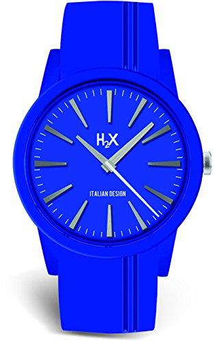H2X Damen Armbanduhr Quarz Silikon SB399DB1
