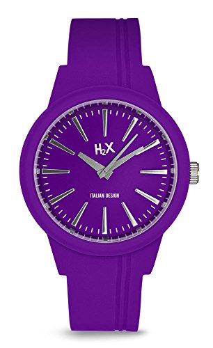 H2X Damen Armbanduhr Quarz Silikon SP399DP3