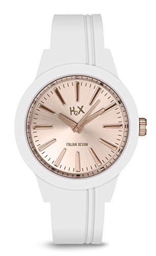 H2X Damen Armbanduhr Quarz Silikon SW399DH2