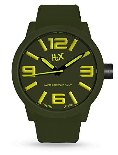 H2 x Turbine p sv395uv1 Herren Armbanduhr