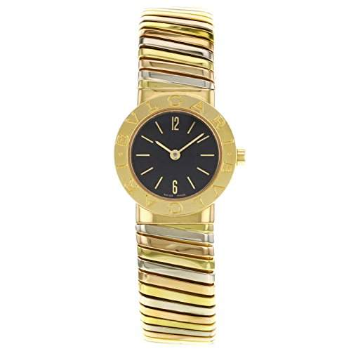 Bvlgari Tubogas BB192TYWP 18 K Gold Tri Color Womens Watch