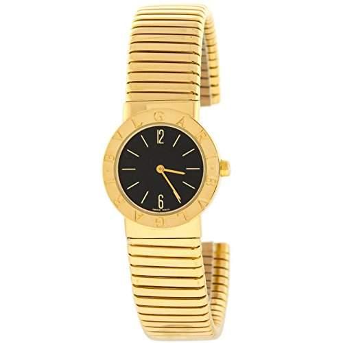 Bvlgari Tubogas BB232TG 18 K Gelb Gold WomenQuarz Uhr