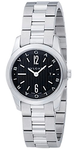 Bvlgari sorotenpo schwarz Zifferblatt Damen Watch st30bssd