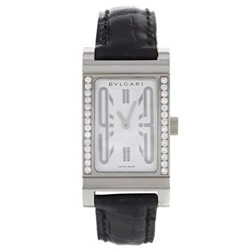 Bvlgari Rettangolo RT W39 G Original Diamanten WomenQuarz Uhr