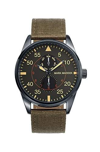 Mark Maddox Herren-Armbanduhr Chronograph Quarz Polyurethan HC0005-54