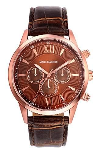 Mark Maddox Herren-Armbanduhr Chronograph Quarz Polyurethan HC6002-43