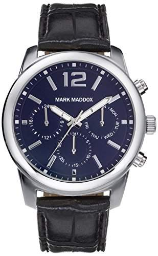 Mark Maddox Herren-Armbanduhr Chronograph Quarz Polyurethan HC6005-35