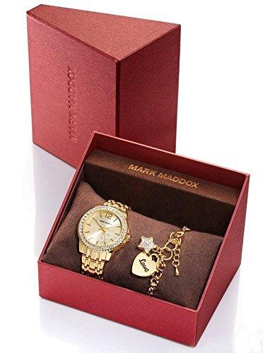 Mark Maddox Analog Quartz Metall Gold MM6004 99