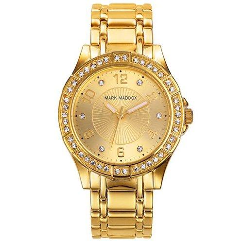 Uhr Mark Maddox Mm0004 95 Damen Gold