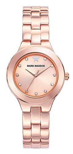 MARK MADDOX MM7010 97 FRAU UHR STEEL
