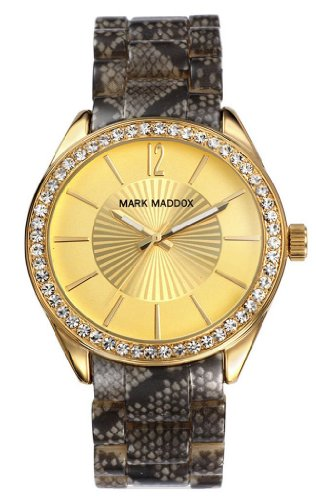 Uhr Mark Maddox Mp3009 25 Damen Gold