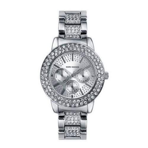 Mark Maddox Trendy Silver Multifunktions-Uhr MM0008-07