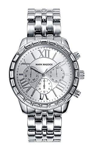 Mark Maddox MM6002-13 Trendy Silver Damenuhr