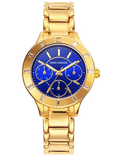 RELOJ MARK MADDOX MM7008 37 MUJER MULTIFUNCION