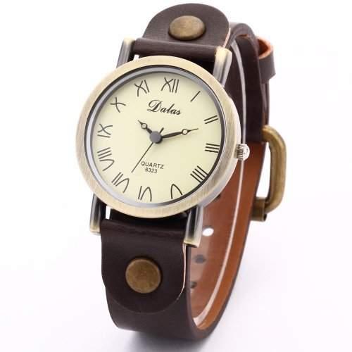 Dalas Fashion Trendy Quarzuhr Armbanduhr Herrenuhr Damenuhr Jungen Uhr WAA267