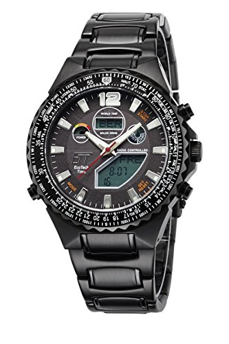 Eco Tech Time Solar Drive Funk Professional EGS 11319 21M World Timer