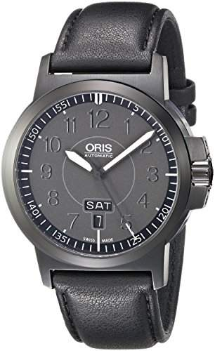 ORIS BC3 MENS STAINLESS STEEL CASE AUTOMATIC UHR 01 735 7641 4764 07 5 22 56B