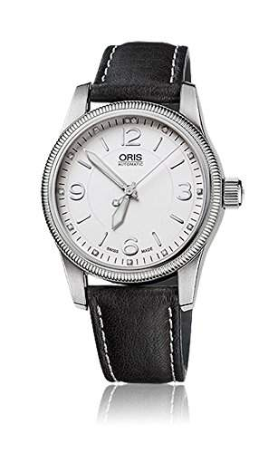 Oris Swiss Hunter Team Automatic Stainless Steel Mens Watch White Dial 733-7649-4091-LS