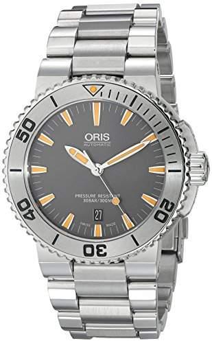 Oris Aquis Herren 43mm Automatikwerk Saphirglas Datum Uhr 73376534158MB