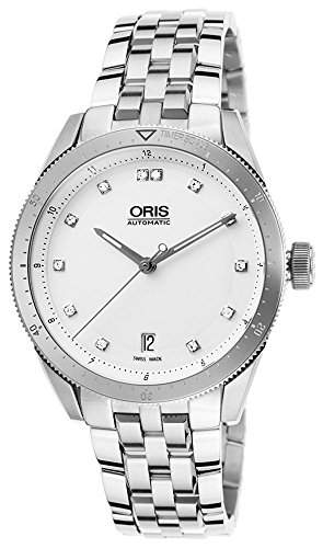 Oris Artix GT Date Automatic Stainless Steel Mens Watch White Dial Calendar 733-7671-4191-MB