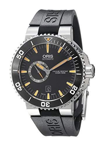 Oris Aquis Small Second Herren 46mm Automatikwerk Datum Uhr 74376734159RS