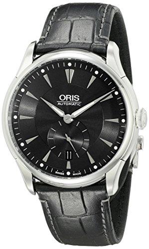Oris Herren 623 7582 4074 LS Artelier Analog Display Automatische selbst wind black watch
