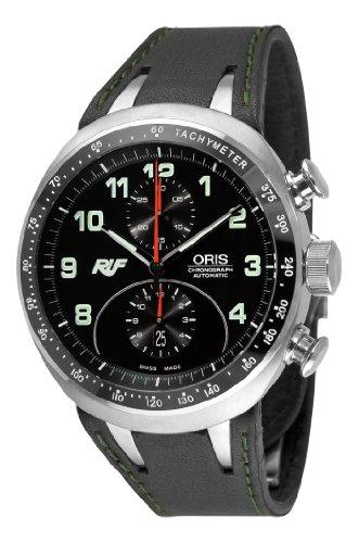 Oris Herren 67376117084LS Ruf CTR 3 Chronograph Limited Edition Black Zifferblatt