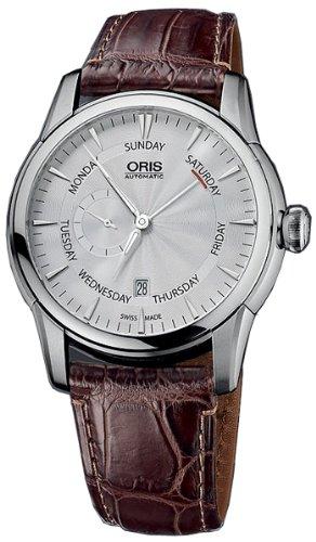 Oris Artelier kleine Sekunde Zeiger Datum Armbanduhr 745 7666 40 51 LS