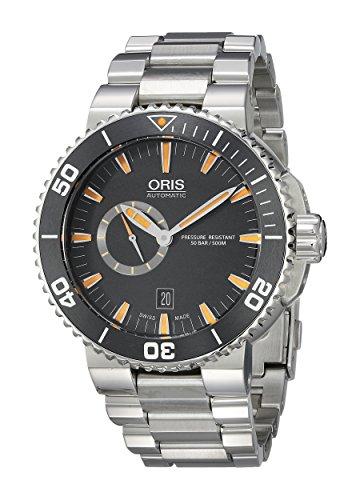 Oris 46mm Armband Edelstahl Gehaeuse Schweizer Automatik Analog 74376734159MB