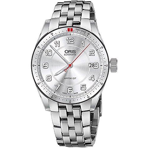 Oris Artix GT 37mm Armband Edelstahl Gehaeuse Schweizer Automatik Analog 73376714461MB