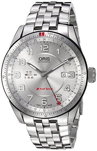 Oris 43mm Armband Edelstahl Gehaeuse Schweizer Automatik Analog 74777014461MB