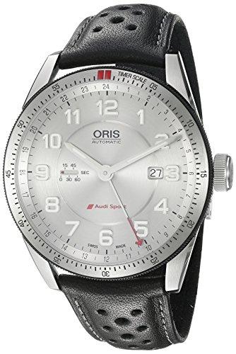 Oris 44mm Armband Kalbsleder Gehaeuse Edelstahl Schweizer Automatik Analog 74777014461LS