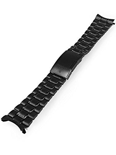 Alienwork Armband schwarz Metall PART 98545 WB B