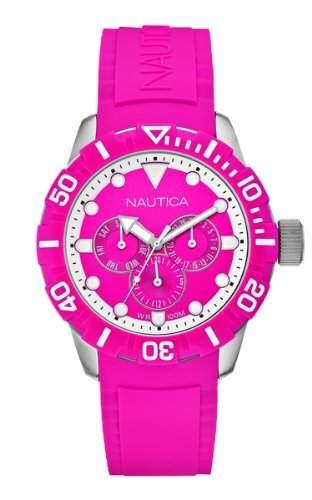 Nautica NSR 101 Damen-Armbanduhr Chronograph Quarz Resin A13641G