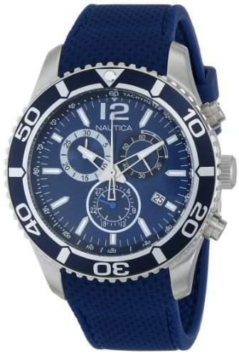 Nautica Herren N15103G NST 09 Stainless Steel Armbanduhr