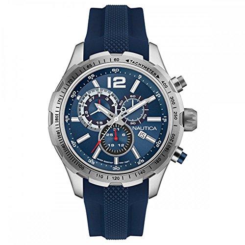 NAUTICA Armbanduhr NST 30 CHRONO Navy Blue NAI15513G
