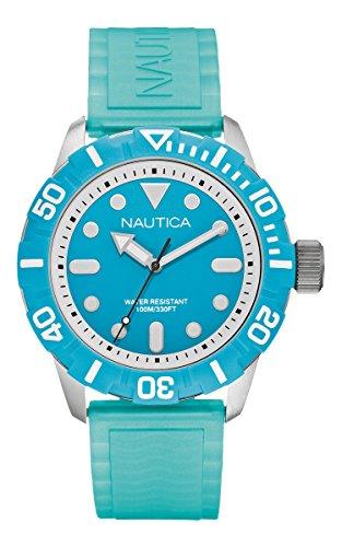 NAUTICA Armbanduhr A Sea of Color NSR 100 Blue A09602G