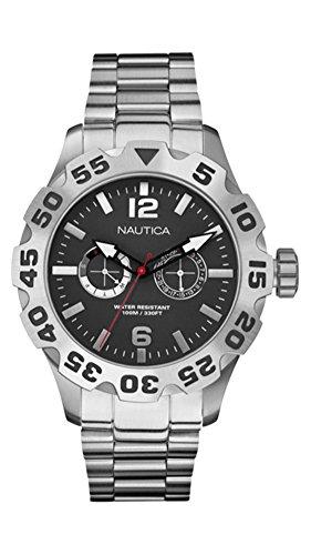 NAUTICA Armbanduhr BFD 100 Multifunction Steel Black A20098G