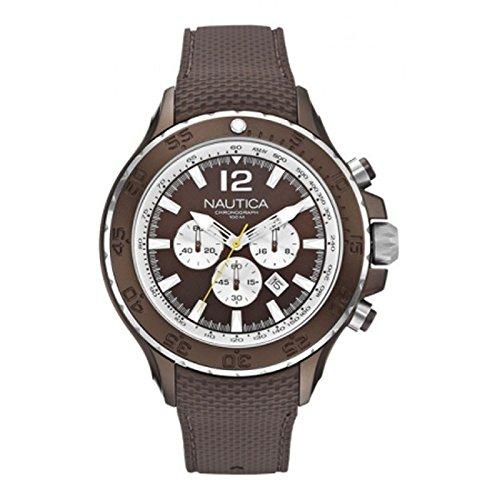 Nautica XL Chronograph Quarz Silikon A22623G
