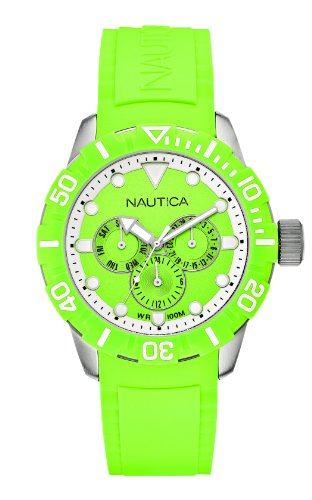Nautica Unisex Armbanduhr Analog Quarz Kautschuk A13640G