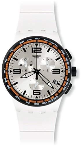 Swatch Herren-Armbanduhr Chronograph Quarz Silikon SUSW405
